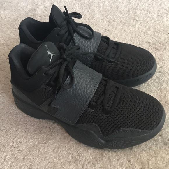 32f42ec8409 Jordan Other - Worn Once Jordan Black Shoes!